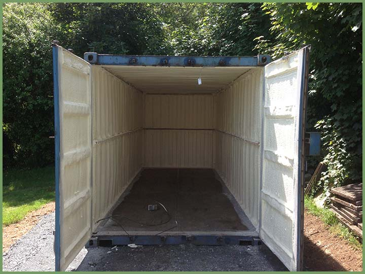 - How to insulate a shipping container home ...